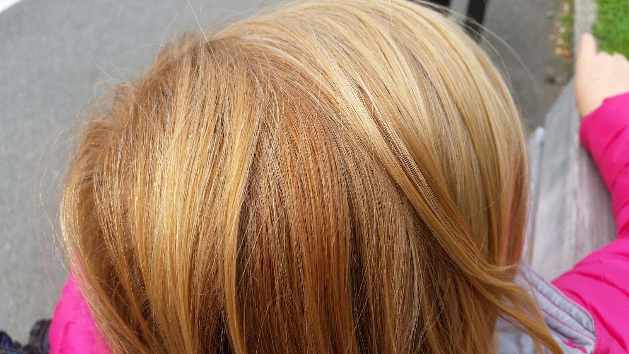 råttfärgat hår